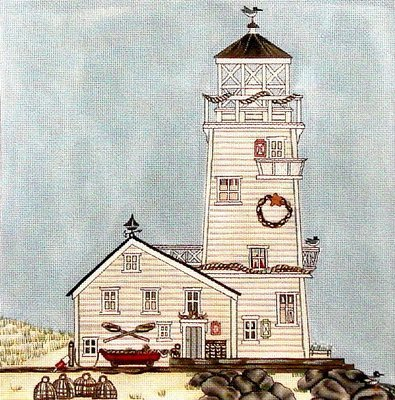 Lighthouse    (Hand Painted by Painted Pony)