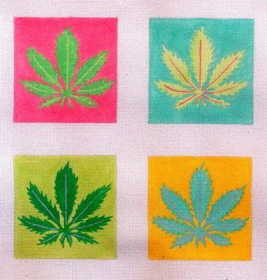 Plant Coasters     (Hand Painted by Kate Dickerson)