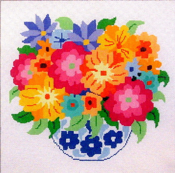 Summer Bouquet    (handpainted from Jean Smith)