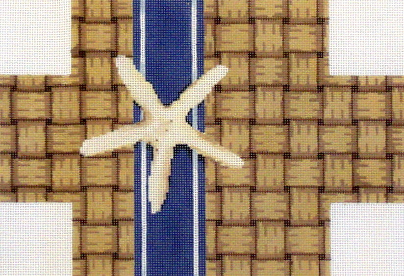 Wicker/Starfish Brick Cover  (Hand Painted by Associated Talent)