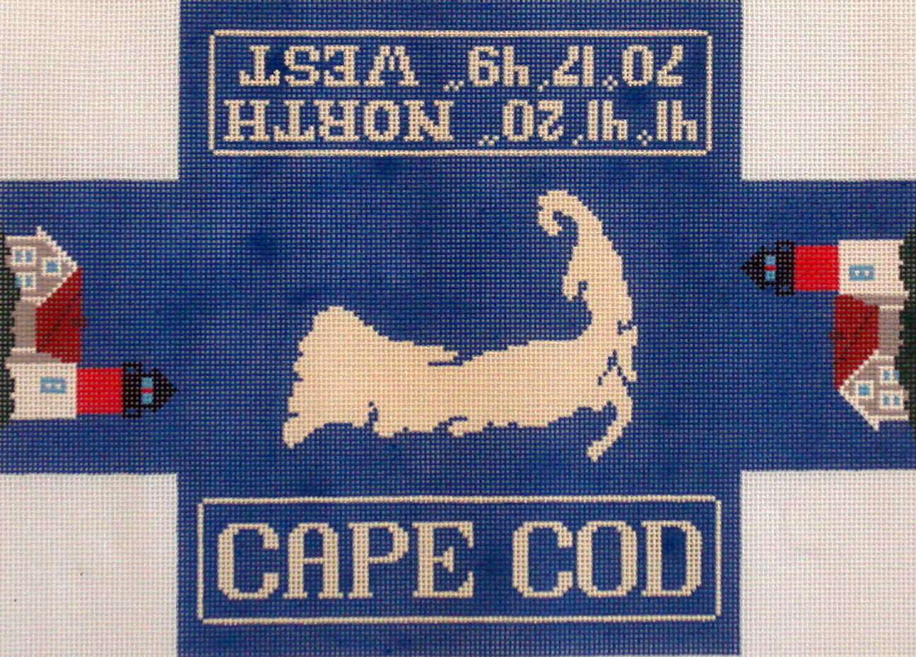 Cape Cod Doorstop   (handpainted by Silver Needle)