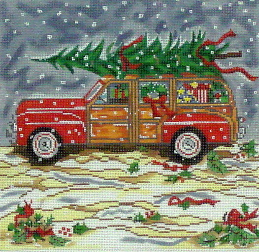 Woody/Christmas (Handpainted from Cooper Oaks Design)
