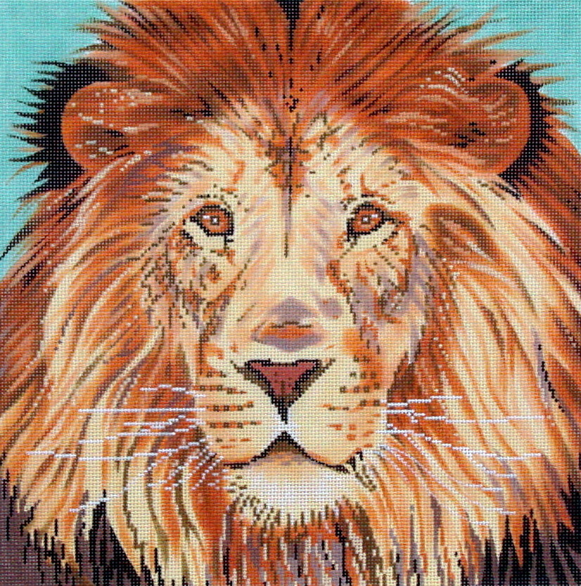 Lion   (handpainted from The Meredith Collection)