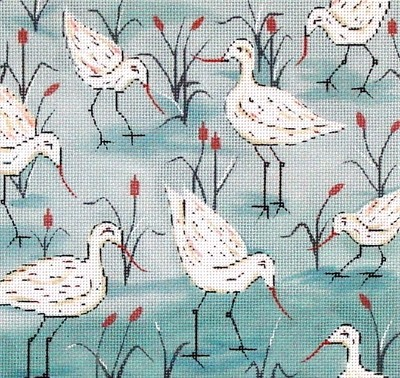 Sandpipers     (handpainted from Alice Peterson)