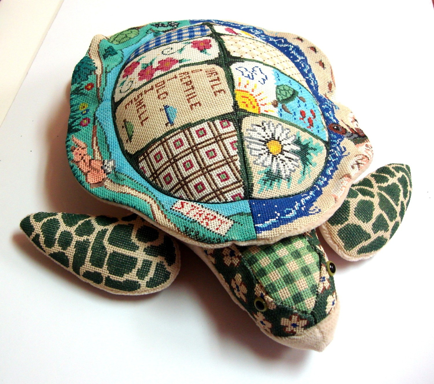 3 D Turtle Canvas,