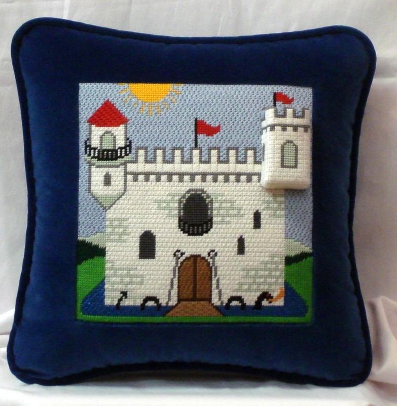 Castle Tooth Fairy Pillow       (Julia's Needlework)