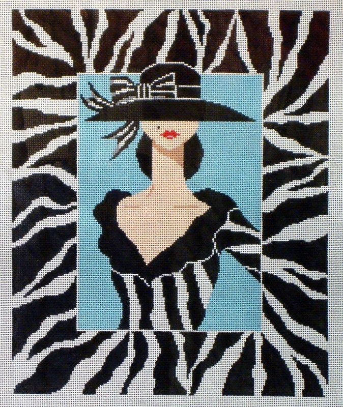 Tres Chic        (handpainted from Shelley Tribbey Designs)