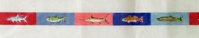 Multi Fish Belt (Handpainted by Voila)