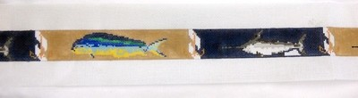 Deep Sea Camel Belt (Handpainted by Walker Street Designs)