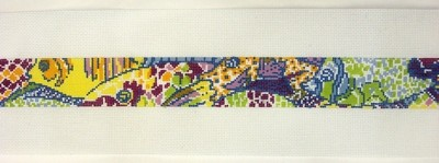 School of Fish Belt    (Handpainted by Itz a Stitch)