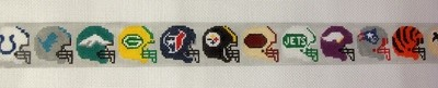 Pro Football Teams Belt (Handpainted by Voila)