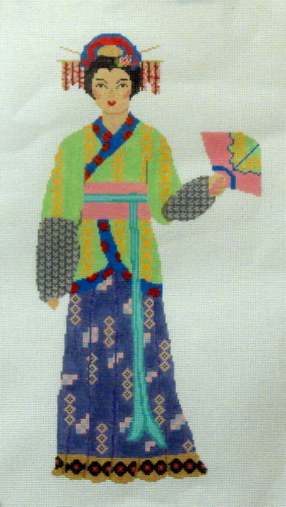 Yuan Dynasty Chinese Woman