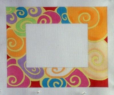 Moonshells Picture Frame (Handpainted by Julie Mar Designs)