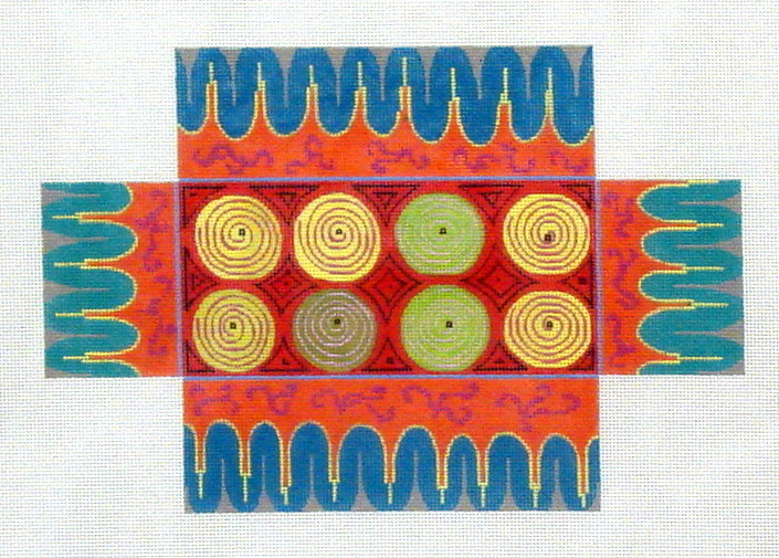 Circles Brick Cover (Handpainted by Colors of Praise)