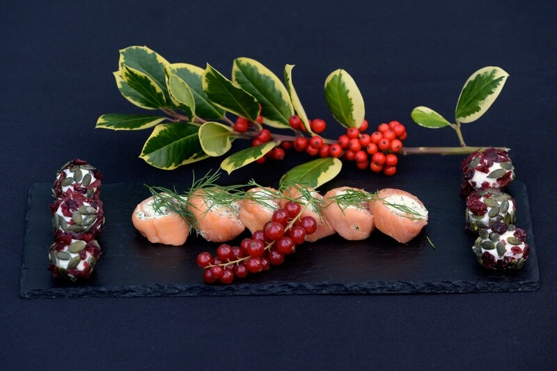 Luxury Christmas Canapes