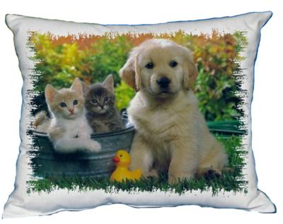 Polštářek Štěňátko a koťátko V