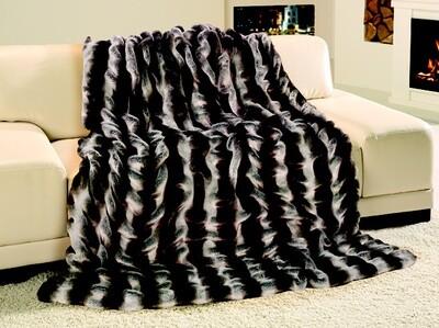 Luxusní deka 150x200 cm - imitace činčila