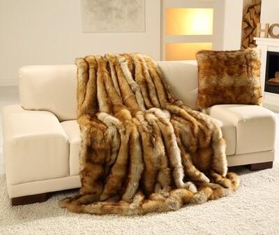 Luxusní deka 150x200 cm - imitace liška