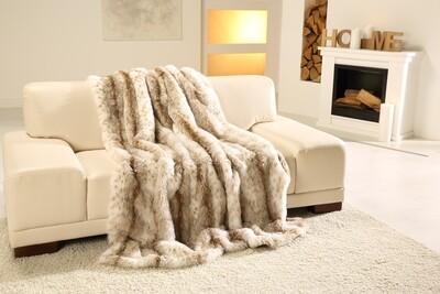 Luxusní deka 150x200 cm - imitace rys