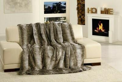 Luxusní deka 150x200 cm - imitace sob
