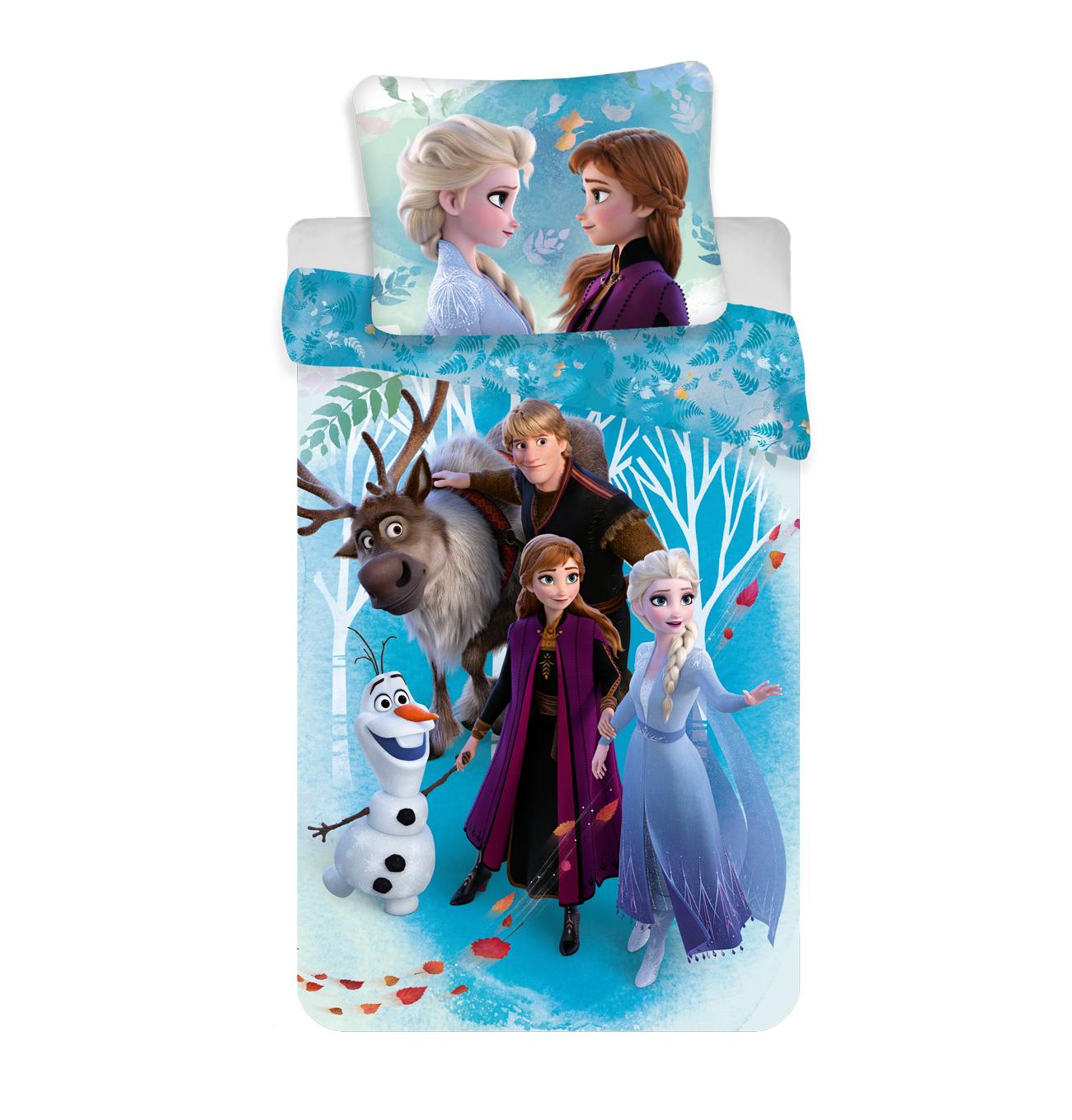 Bavlněné dětské povlečení Frozen 2