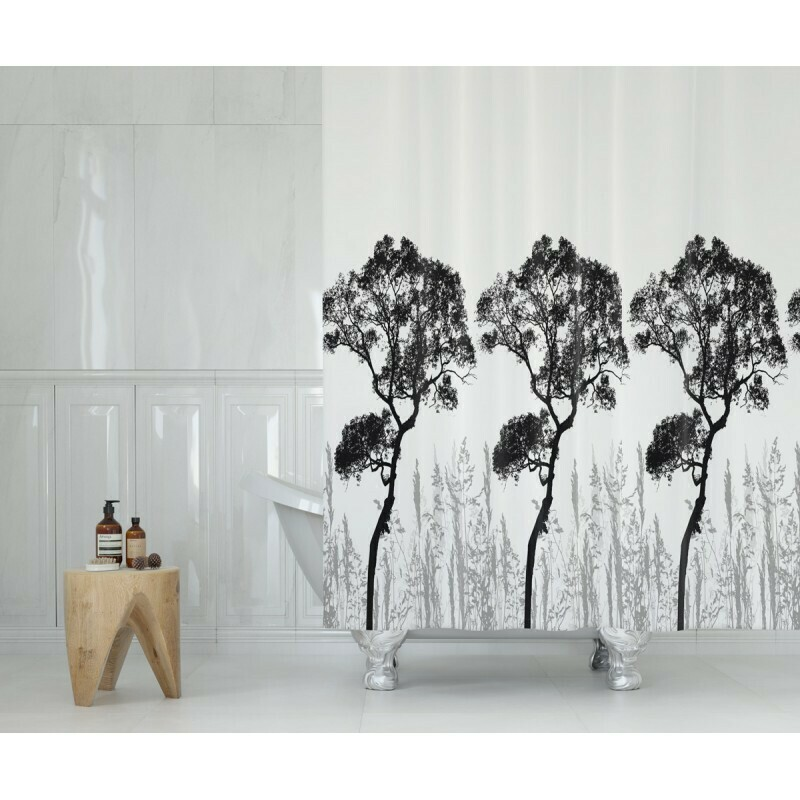 Koupelnový závěs 180x200cm - Příroda 3391