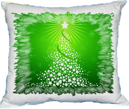 Polštářek vánoční stromeček II
