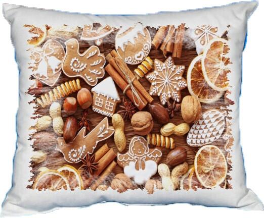Polštářek vánoční cukroví