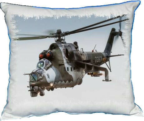 Polštářek Vrtulník Mil Mi-24