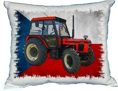 Polštářek traktor Zetor 7745