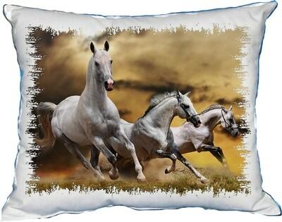 Polštářek divoké koně