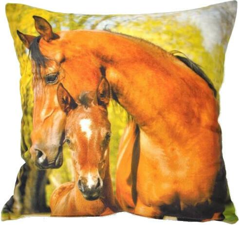 Povlak na polštářek Koně
