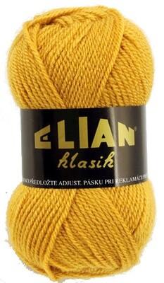 Pletací příze Elian Klasik 5095 - žlutá