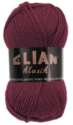 Pletací příze Elian Klasik 129 - vínová