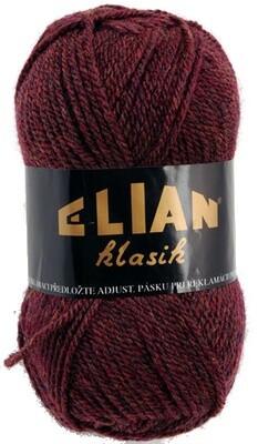 Pletací příze Elian Klasik 3501 - vínová