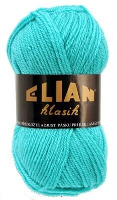 Pletací příze Elian Klasik 211 - zelená