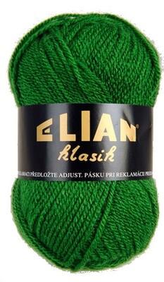 Pletací příze Elian Klasik 3584 - zelená