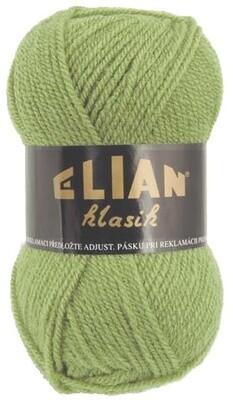 Pletací příze Elian Klasik 10024 - zelená