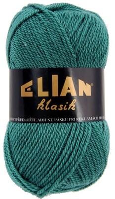 Pletací příze Elian Klasik 516 - zelená
