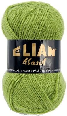 Pletací příze Elian Klasik 3826 - zelená