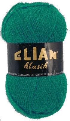 Pletací příze Elian Klasik 132 - zelená