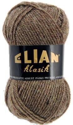 Pletací příze Elian Klasik 3497 - hnědá