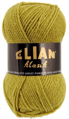 Pletací příze Elian Klasik 4156 - zelená