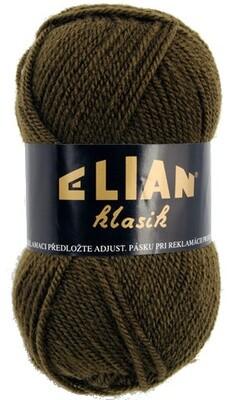 Pletací příze Elian Klasik 2565 - zelená