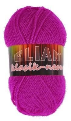 Pletací příze Elian Klasik Neon 10918 - červená