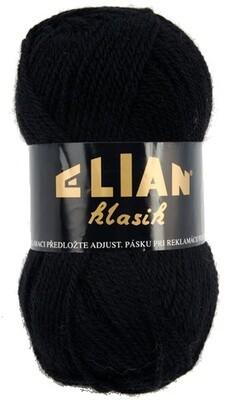 Pletací příze Elian Klasik 217 - černá