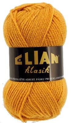 Pletací příze Elian Klasik 4946 - hnědá
