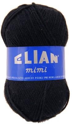 Pletací příze Elian Mimi 217 - černá