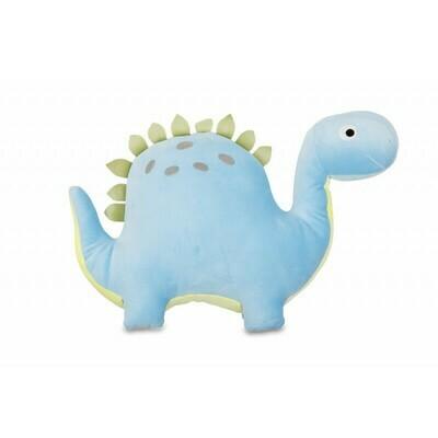 Polštářek 3D dinosaurus modrý