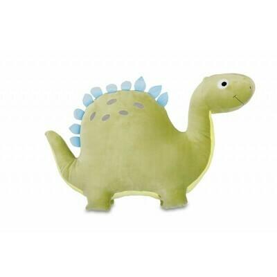 Polštářek 3D dinosaurus zelený